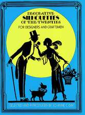 Decorative Silhouettes of the Twenties:  For Designers and Craftsmen
