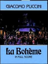 La Boheme in Full Score
