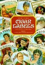Old-Time Cigar Labels in Full Color