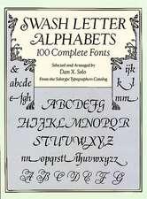 Swash Letter Alphabets