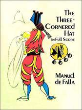 The Three-Cornered Hat in Full Score:  229 Different Copyright-Free Designs Printed One Side