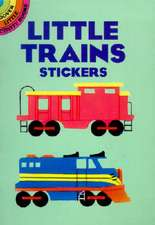 Little Trains Stickers [With Stickers]