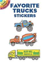 Favorite Trucks Stickers