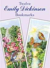 Twelve Emily Dickinson Bookmarks