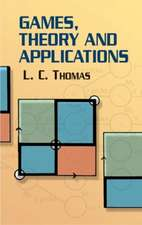 Games, Theory and Applications:  Methods and Applications