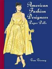 American Fashion Designers Paper Dolls