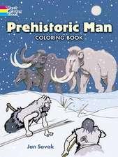 Prehistoric Man Coloring Book