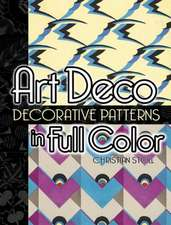 Art Deco Decorative Patterns in Full Color:  Three-Volume Set