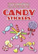 Glitter Candy Stickers