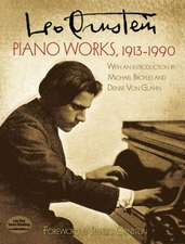 Piano Works, 1913-1990:  Pen, Pencil, and Ink Wash Techniques