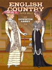 English Country Paper Dolls:  In the Downton Abbey Style