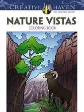 Creative Haven Nature Vistas Coloring Book