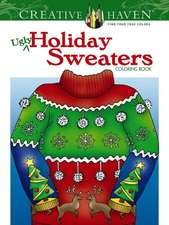 Creative Haven Ugly Holiday Sweaters Coloring Book