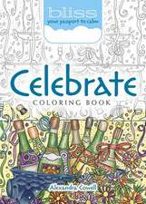 Bliss Celebrate Coloring Book