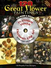 120 Great Flower Paintings Platinum DVD and Book [With DVD]