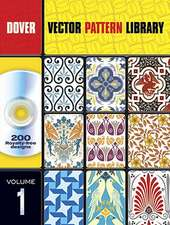 Vector Pattern Library [With CDROM]