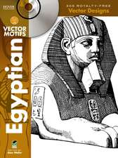 Egyptian Vector Motifs [With CDROM]