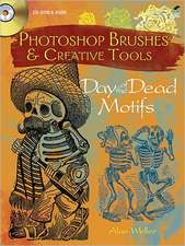 Photoshop Brushes & Creative Tools:  Day of the Dead Motifs [With CDROM]