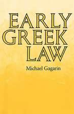 Early Greek Law (Paper)