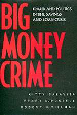 Big Money Crime – Fraud & Politics in the Savings & Loans Crisis (Paper)
