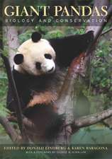 Giant Pandas – Biology and Conservation