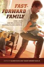 Fast–Forward Family – Home, Work and Relationships  in Middle–Class America