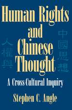 Human Rights in Chinese Thought: A Cross-Cultural Inquiry