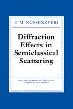 Diffraction Effects in Semiclassical Scattering