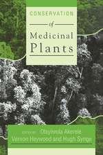 Conservation of Medicinal Plants