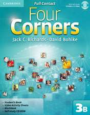 Four Corners Level 3 Full Contact B with Self-study CD-ROM