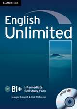 English Unlimited Intermediate Self-study Pack (Workbook with DVD-ROM)