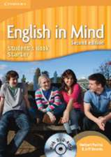 English in Mind Starter Level Student's Book with DVD-ROM