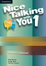 Nice Talking With You Level 1 Teacher's Manual