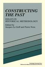 Constructing the Past: Essays in Historical Methodology