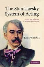 The Stanislavsky System of Acting: Legacy and Influence in Modern Performance
