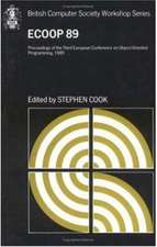 ECOOP'89: Proceedings of the 1989 European Conference on Object-Oriented Programming