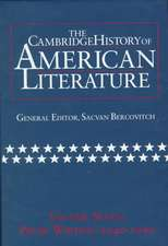 The Cambridge History of American Literature: Volume 7, Prose Writing, 1940–1990
