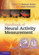 Handbook of Neural Activity Measurement