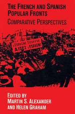 The French and Spanish Popular Fronts: Comparative Perspectives