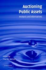 Auctioning Public Assets: Analysis and Alternatives