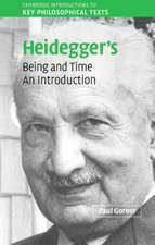 Heidegger's Being and Time: An Introduction