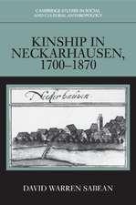 Kinship in Neckarhausen, 1700–1870