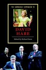 The Cambridge Companion to David Hare