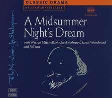 A Midsummer Night's Dream 3 Audio CD Set