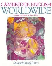 Cambridge English Worldwide Student's Book 3