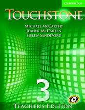 Touchstone Teacher's Edition 3 with Audio CD