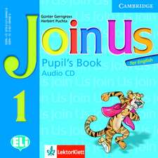 Join Us for English Level 1 Pupil's Book Audio CD Polish Edition