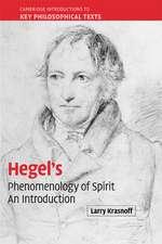 Hegel's 'Phenomenology of Spirit': An Introduction