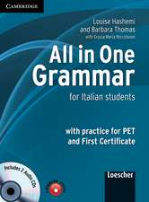 All in One Grammar Student's Book with Audio CDs (2): For Italian Students