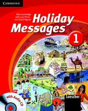 Holiday Messages 1 Student's Book with Audio CD Italian Edition
